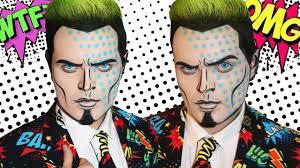 ic book guy pop art makeup