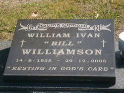 William Ivan Williamson (1935-2005) - Find A Grave Memorial