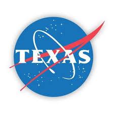 Texas Space Agency Vinyl Decal Texas Humor