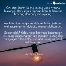 gini saja ibarat kaleng quotes writings by irsun anwar