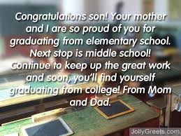 what to write in an elementary graduation card elementary