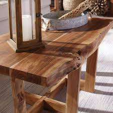 beyers solid wood sled coffee table in