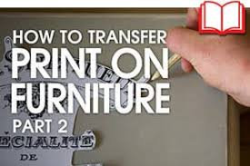 How To Transfer Print Onto Furniture Bigbite Studio Print Transfers