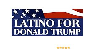 Amazon Com Magnet 3x9 Inch Latino For Donald Trump Bumper Sticker Latin Gop Vote Hispanic Mexican Magnetic Magnet Vinyl Sticker Home Kitchen