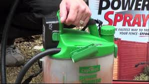 Cuprinol Power Sprayer Product Review Video Dailymotion