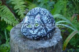 painted rocks for garden decoration