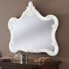 antique french style wall mirror