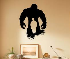 Amazon Com Incredible Hulk Wall Decal Marvel Comics Hero Vinyl Sticker Home Interior Wall Decor 13h01k Kitchen Dining