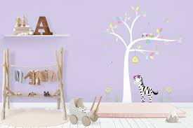 Nursery Wall Decals Baby Wall Decals Girls Room Mural Kids Wall Nurserydecals4you