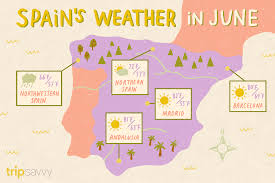 มิถุนายนในสเปน: อากาศ, สิ่งที่ต้องแพ็คและไปดูอะไร