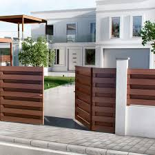 Garden Fence Smartia Fc50 Alumil S A With Panels Aluminum