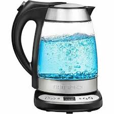 electric glass digital tea maker kettle