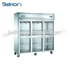commercial refrigerator freezer food