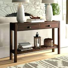 sofa table behind couch sofa table