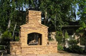 prefabricated outdoor fireplaces