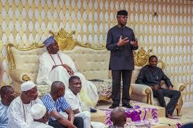 Photo:Osinbajo Pays Courtesy Call On ObaElegushi | PM Parrot