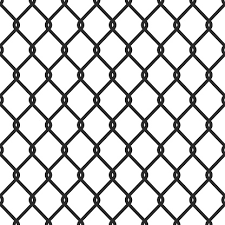 Silhouette Of Chain Link Fence Seamless Wired Mesh Steel Fence Pattern Template Design For Prison Barrier Industrial Safety Zone Secured Property Cage Production Stock Illustration Download Image Now Istock