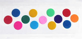 30 Plain Big Colored Round Bindis Size 15 mm/ Multicolor Bindis/ Plain  Kumkum Bindis/ Big Round Bindi Stickers - Buy Online in Guernsey. |  glamorous collection Products in Guernsey - See Prices,
