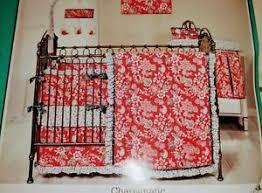 charismatic 3 piece crib bedding set