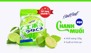 Kẹo Chanh Muối Thái Lan 120g Hartbeat Bổ Sung Vitamin C