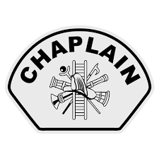 Chaplain With Scramble Helmet Front Decal The Emergency Mall