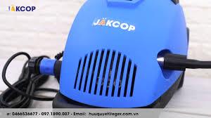 Máy rửa xe áp lực cao Jakcop APW-JK-90P nhanh chóng làm sạch vết bẩn như  thế nào? - YouTube