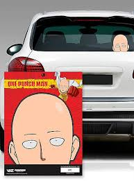 One Punch Man Car Decal