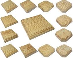 Treated Wood Finial Etsy