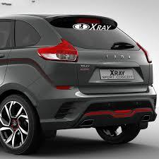 Lada Xray Vaz For Auto Car Bumper Window Vinyl Decal Sticker Decals Diy Decor Ct765 Car Stickers Aliexpress