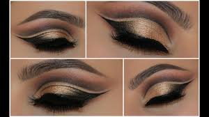 face inspired double cut crease