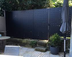 Perforated Metal Fence Paddington Arrow Metal