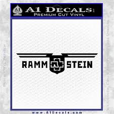 Rammstein Decal Sticker A1 Decals