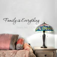 Family Is Everything Vinyl Wall Sticker Quotes Decorative Art Decal Home Decor Leather Bag