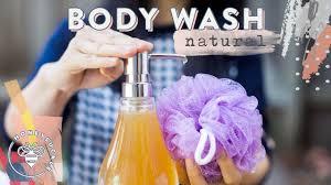 diy natural body wash natural beauty