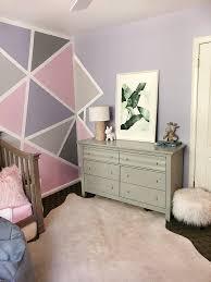 home decor geometric accent wall