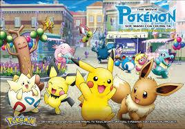 Pikachu và Pokémon huyền thoại xuất hiện trong phim điện ảnh ...