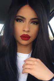 lips makeup red lipstick instantly