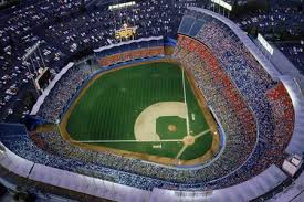 dodger stadium baseball sports