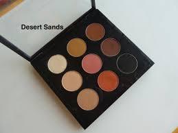 makeup geek desert sands eyeshadow review