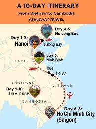 10 day vietnam cambodia itinerary