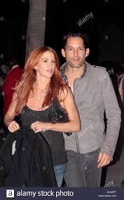 Poppy Montgomery and her husband Adam Kaufman Celebrities arrive ...
