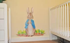 peter rabbit wallpaper nursery peter