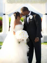 Bridal Bliss Exclusive: NFL Star Adrian Wilson & Wife Renew Vows ...