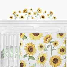 Sunflower Collection Peel And Stick Wall Decal Stickers Set Of 4 Sheets