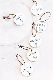 personalized glass charms bridal