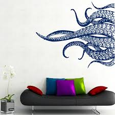 High Quality Octopus Paul Kraken Marine Wall Decal Murals Tentacles Vinyl Sticker Bathroom Decor Sea Ocean Animal Direct Selling Animal Deer Sticker Vinylanimal Fridge Aliexpress