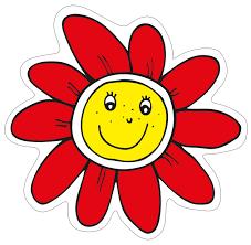 Červená kytka – Obrázkový ostrov Lenky Procházkové