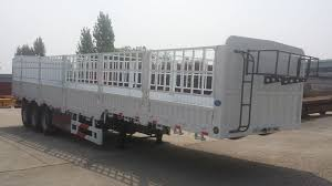 30 60t Gooseneck Stake Fence Semi Truck Trailer Chinatrucksuppliers Com