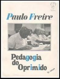 Pedagogia do Oprimido - Capa Brochura - Paulo freire