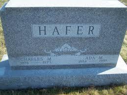 Ada M Hafer (Snyder) (1884 - 1959) - Genealogy